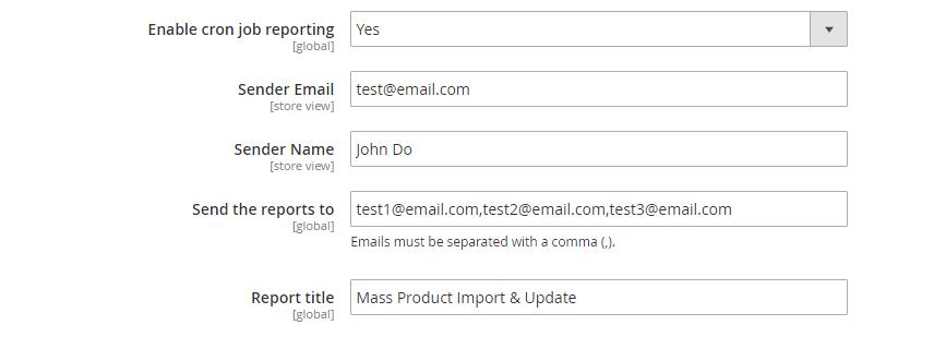 Mass Product Import & Update