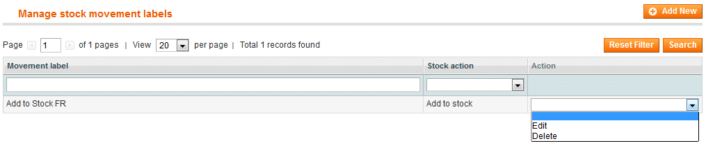 Stock Barcode Scanner