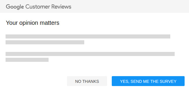 Google Customer Reviews Previously Trusted Stores Magento Extension
